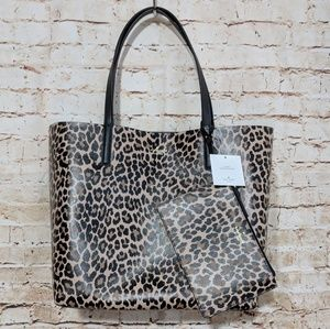 Kate Spade Reversible Leopard Arch Place Mya Tote